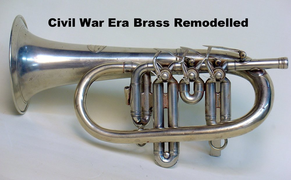 Civil War Era Brass Remodeled