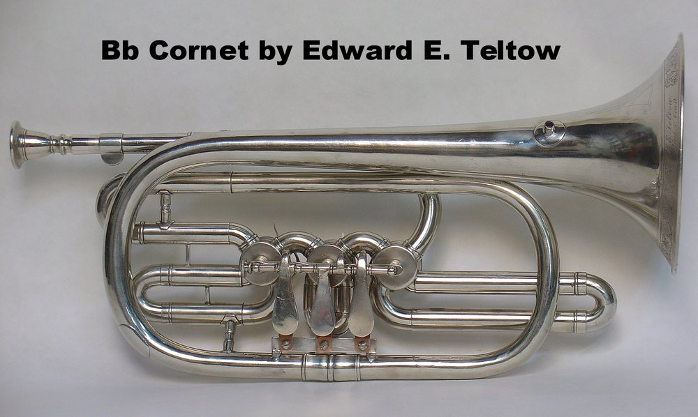 Bb Cornet by Edward E. Teltow