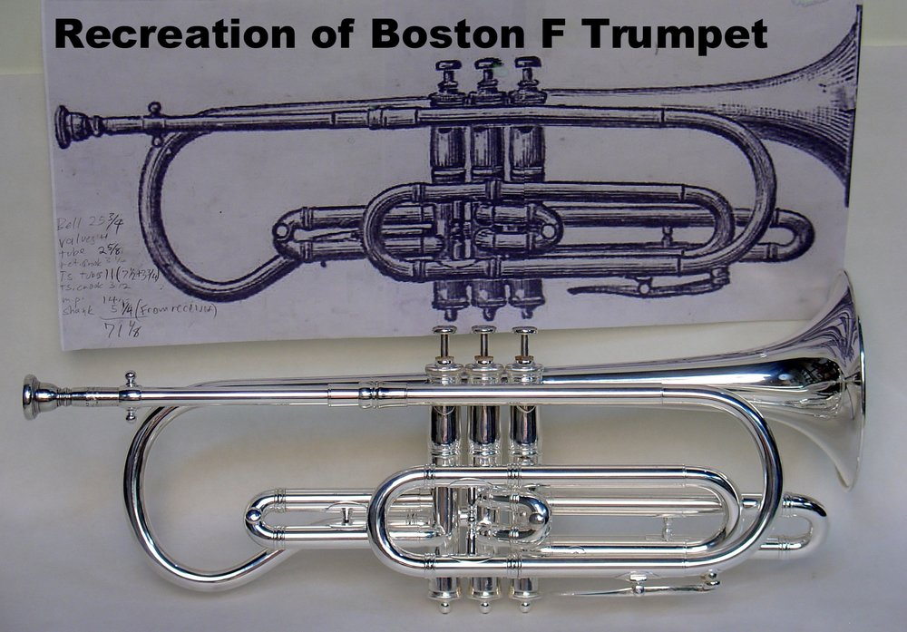 Recreation of Boston F Trumpet