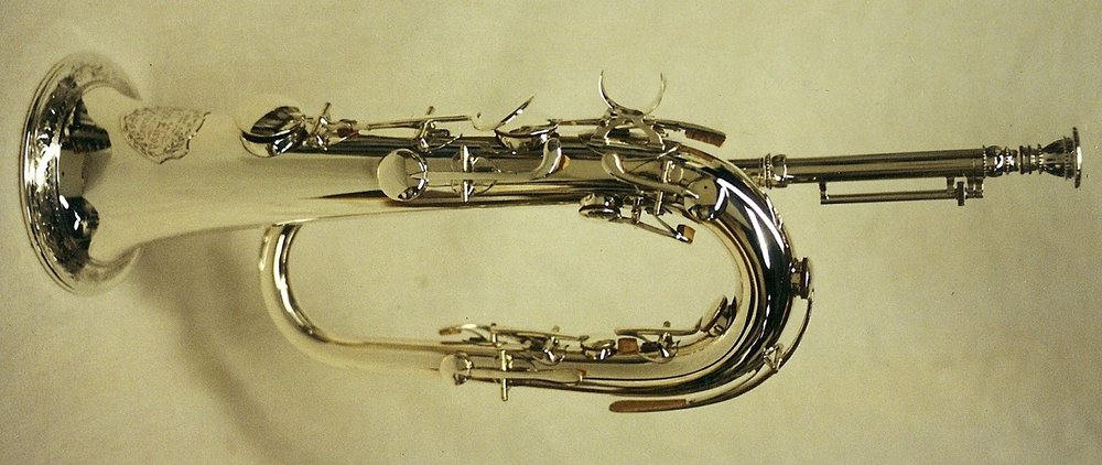 Sterling Silver Keyed Bugle