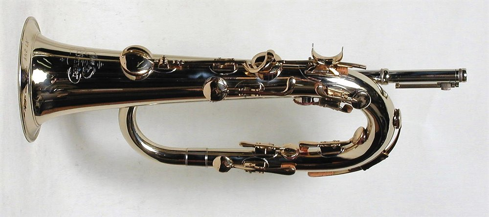 Eb Keyed Bugle, Solid Nickel Silver