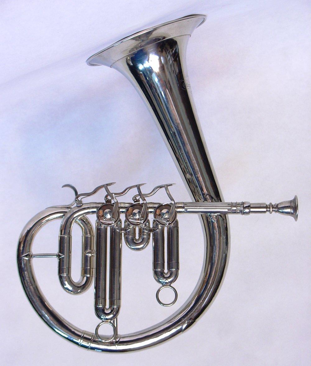 Circular Eb Soprano Saxhorn
