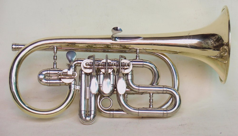 Bb Cornet with 4 Valves