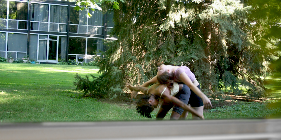 Lafayette Park. Live performance. 2012. Performed by  Phaedra Easson and  Corissa Leveille