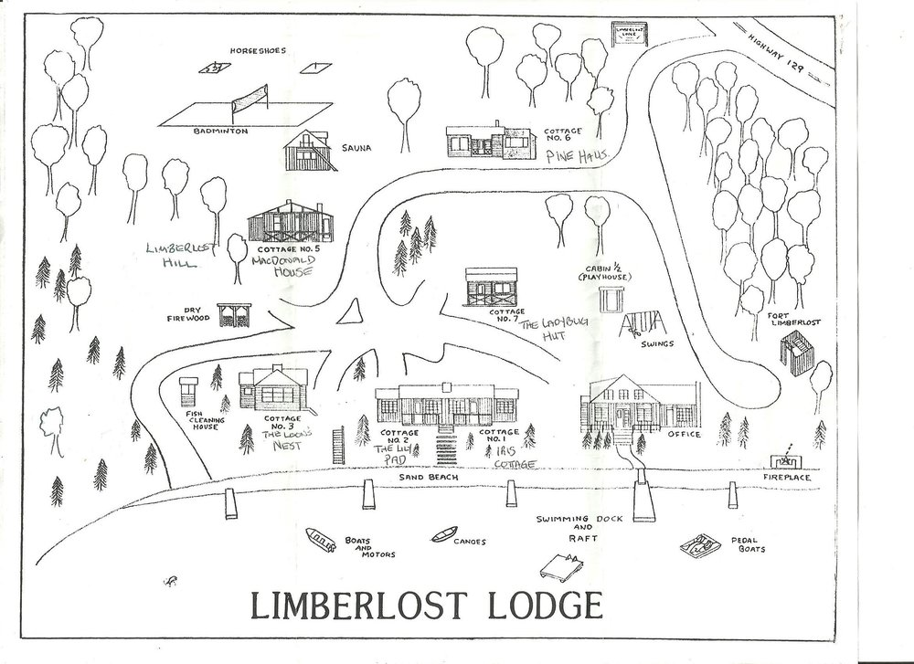 Limberlost Lodge Facility Map