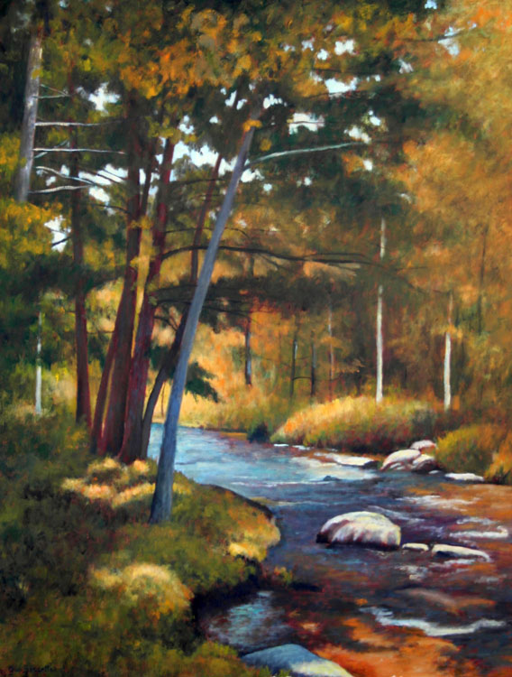 Charlie's Brook 40 x 30