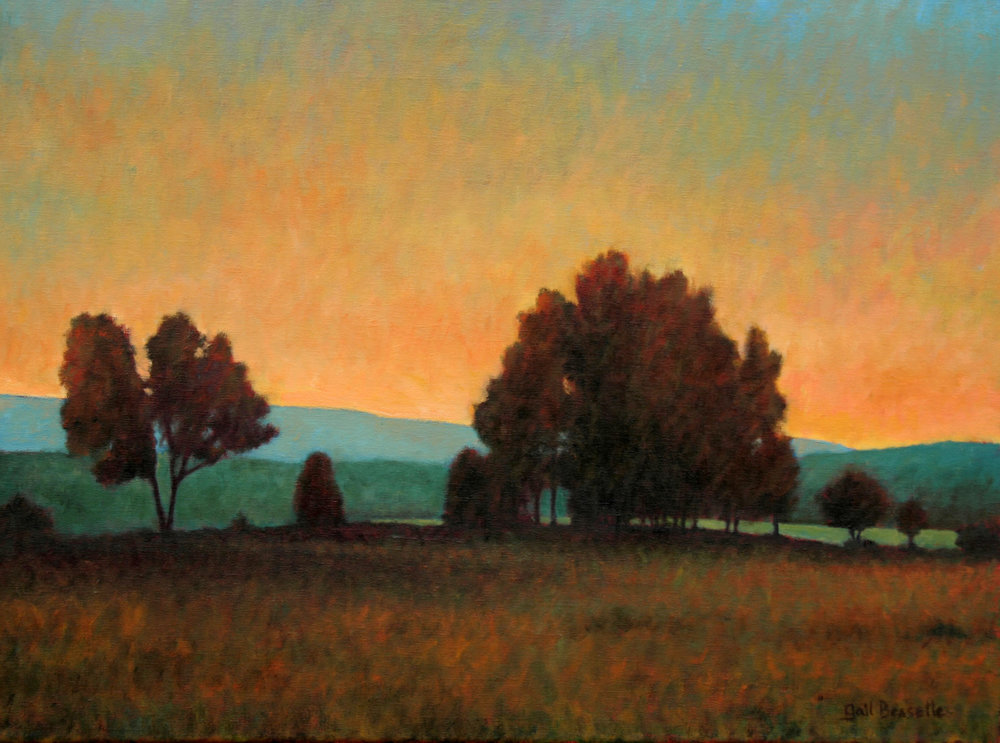 Foothills 18 x 24 SOLD