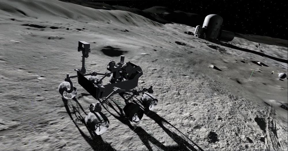 Moon Village VR - The European Space Agency initiative