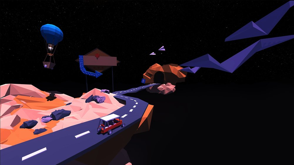 On the road - An Immersive story powered by Web VR