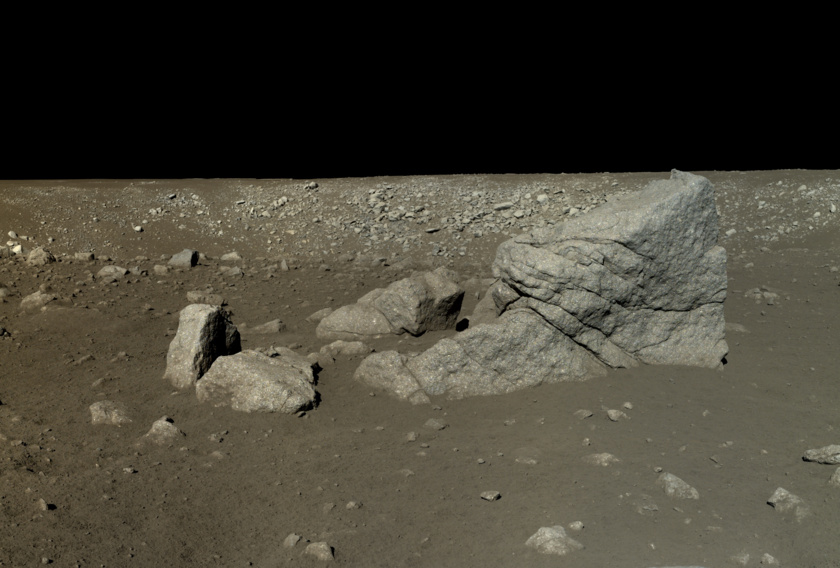 Photo from Chinese Yutu moon lander- Academy of Sciences / China National Space Administration / Emily Lakdawalla