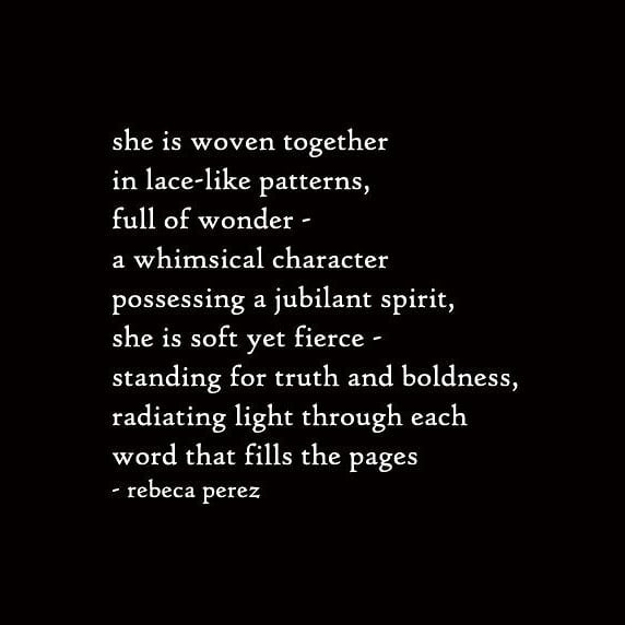 she is soft yet fierce • 🖋: #writtenriver