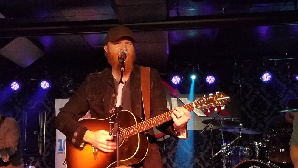 Eric Paslay  Playing Outside of Boston