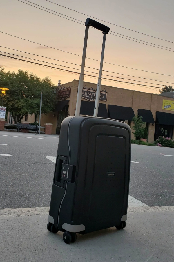 My favorite all time carry on, the Samsonite S'Cure