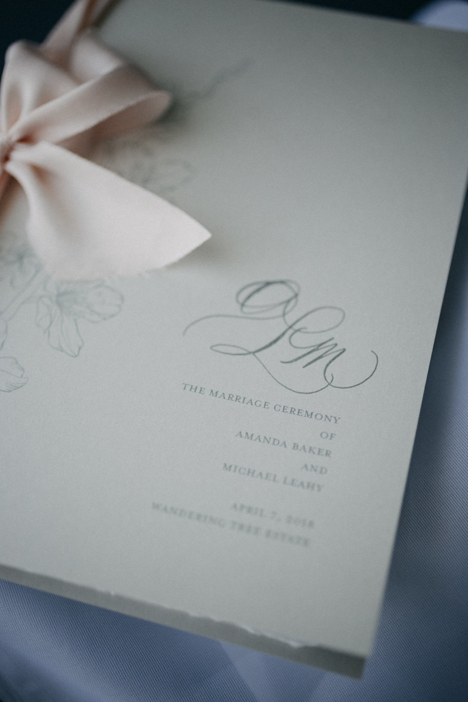 Suite Design & Calligraphy: Joi Hunt