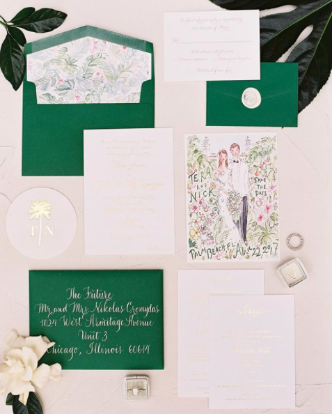 Suite Design: All She Wrote  Calligraphy: Joi Hunt
