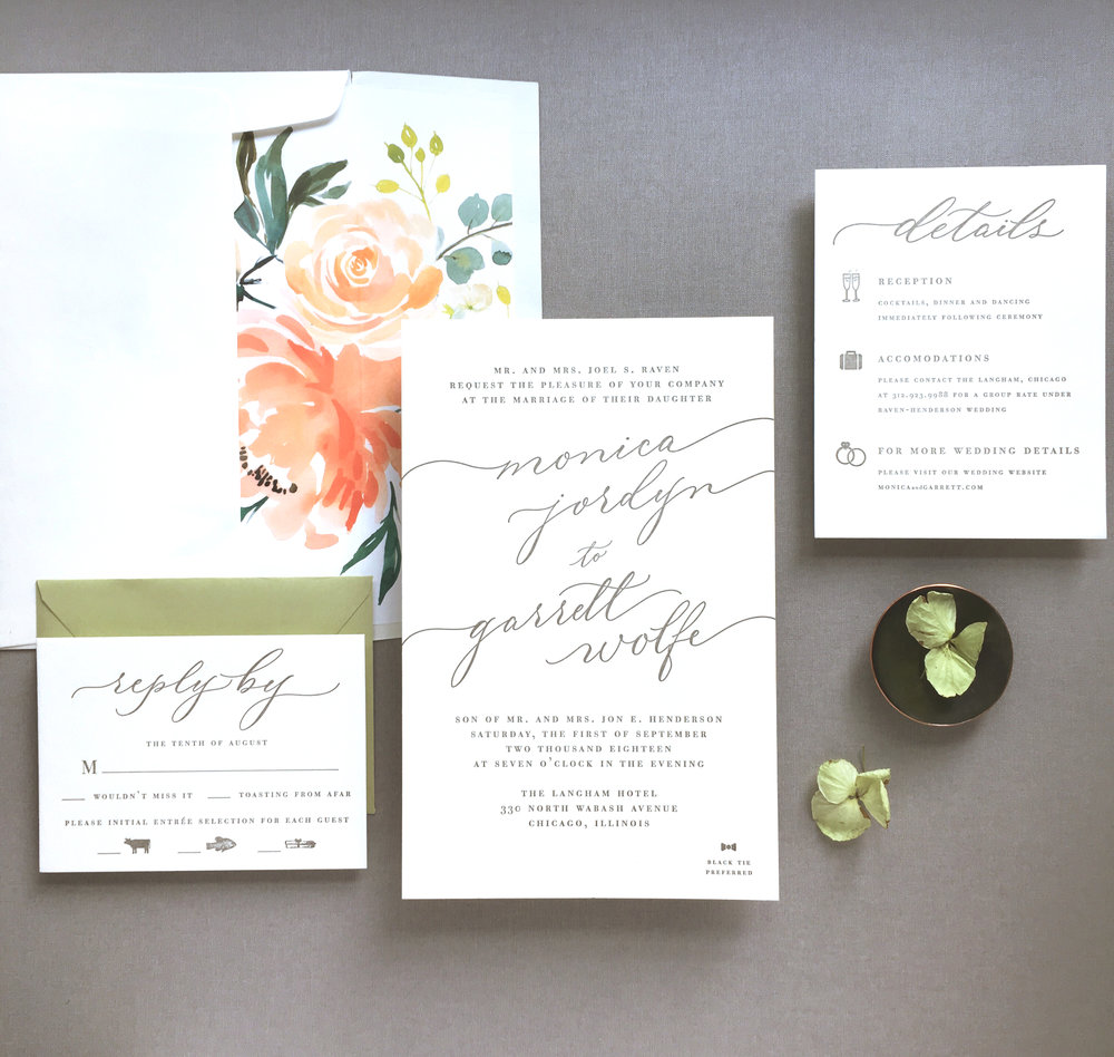Suite Design: All She Wrote  Spot Calligraphy: Joi Hunt