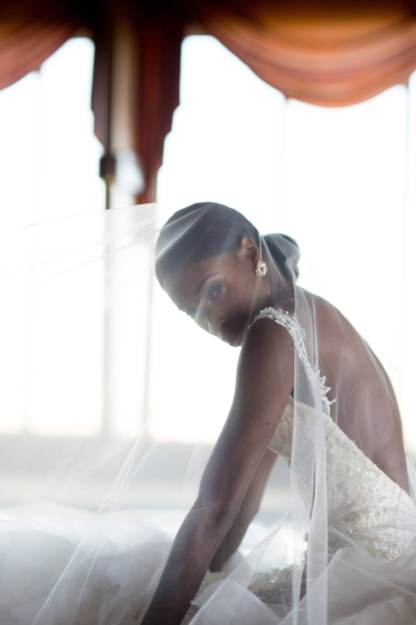 Andrea Pitter Campbell- Designer of Pantora Bridal  Photo Credit- Kesha Lambert