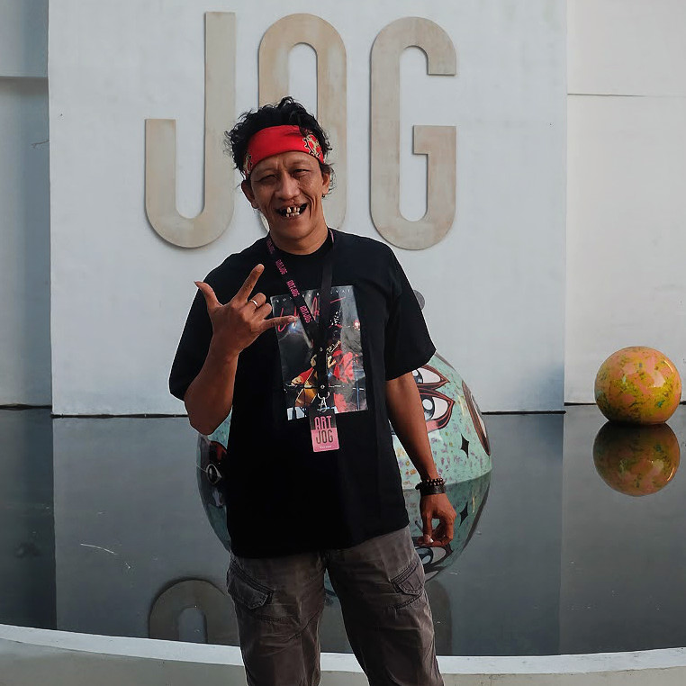 "In the flesh: Bambang ""Toko"" Witjaksono, the curator for ARTJOG10, speaks with Globetrotter."