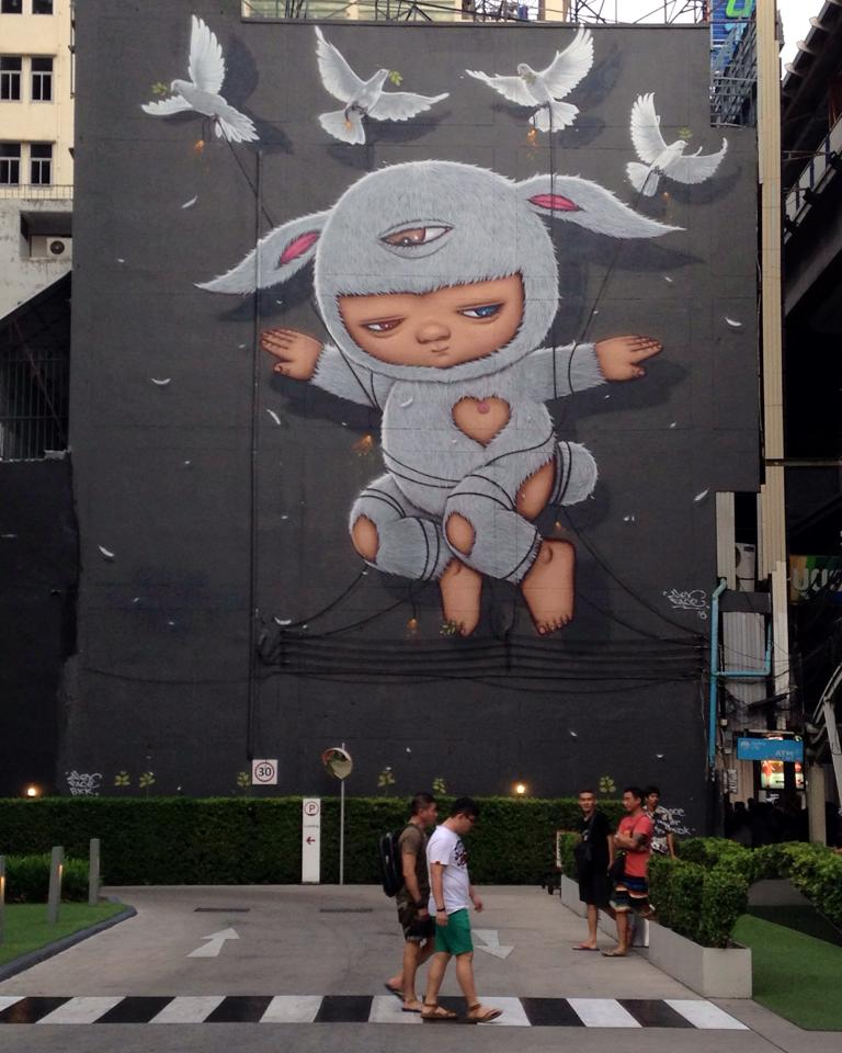Alex Face Bangkok Graffiti Street Artist - Peace.jpg