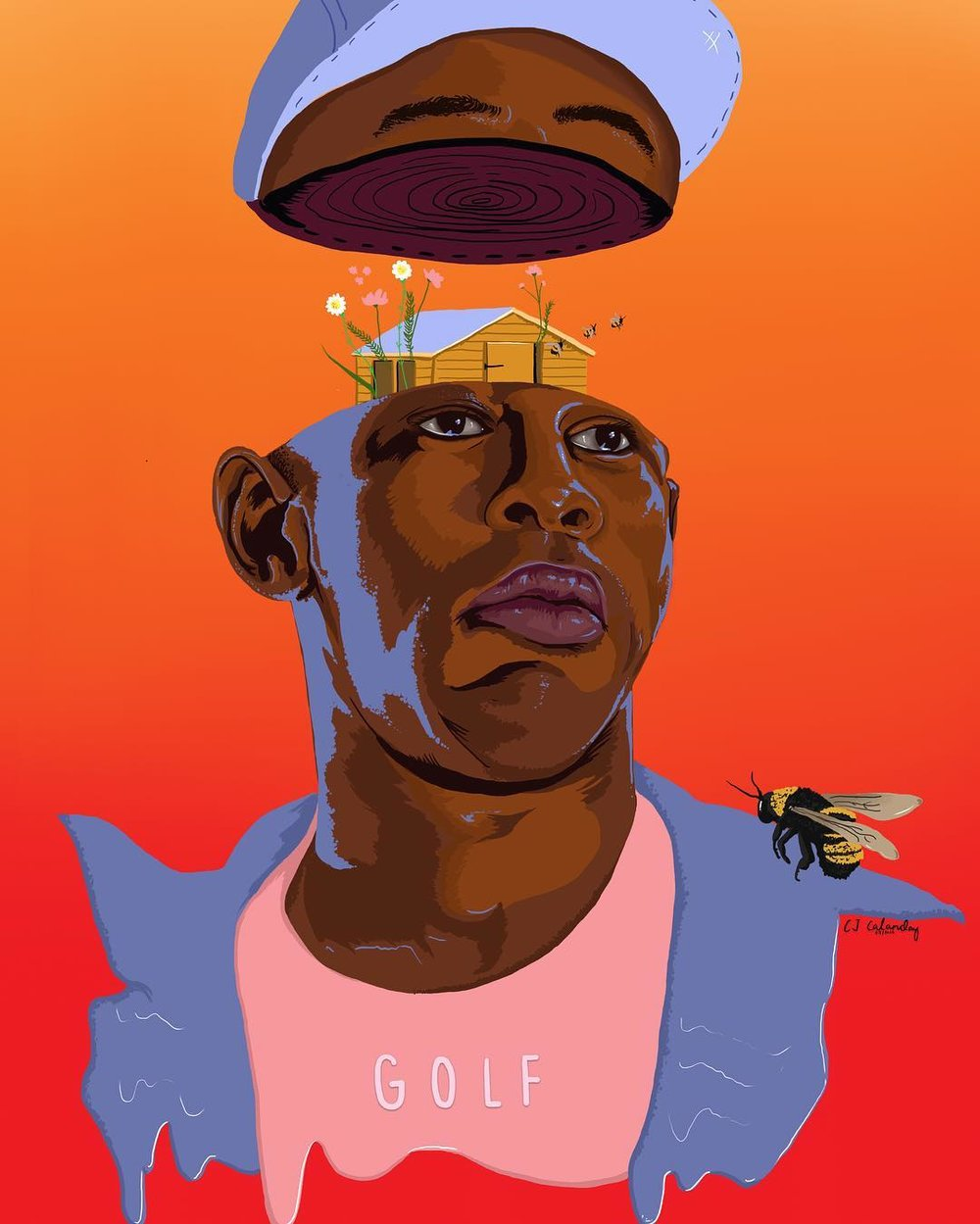 chaariz filipina london artist digital doodler - tyler the creator.jpg