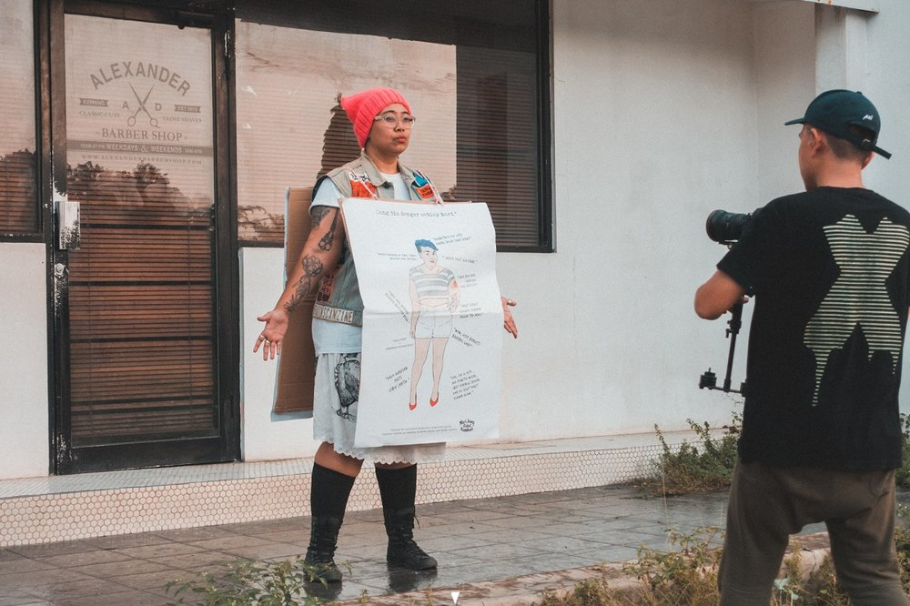 Yacko Indonesian Female Rapper Fights Street Harassment with Hands Off 05.jpg