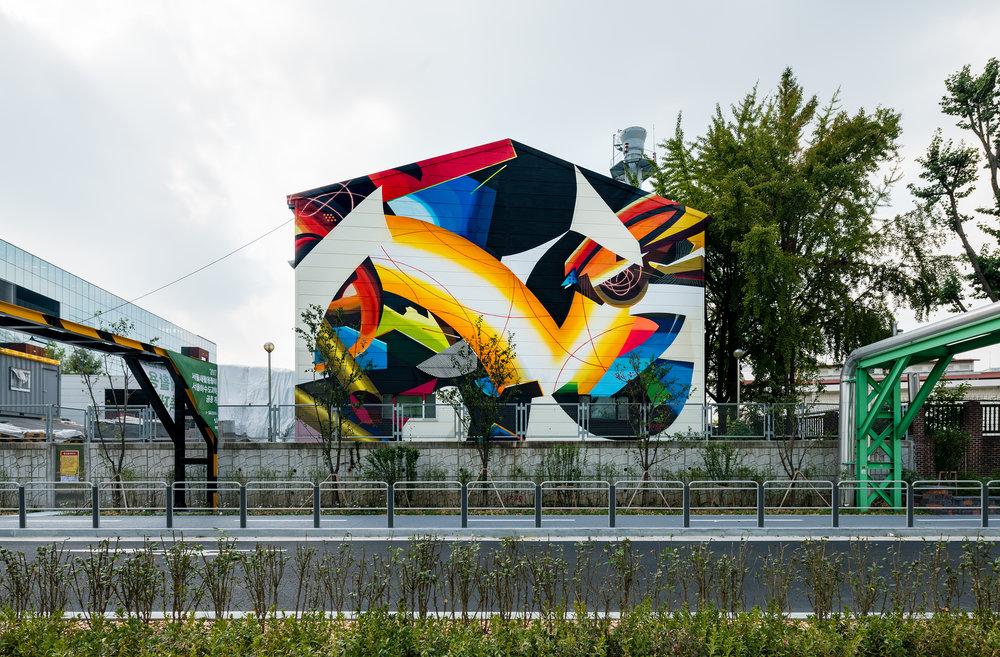 Mural by Xeva