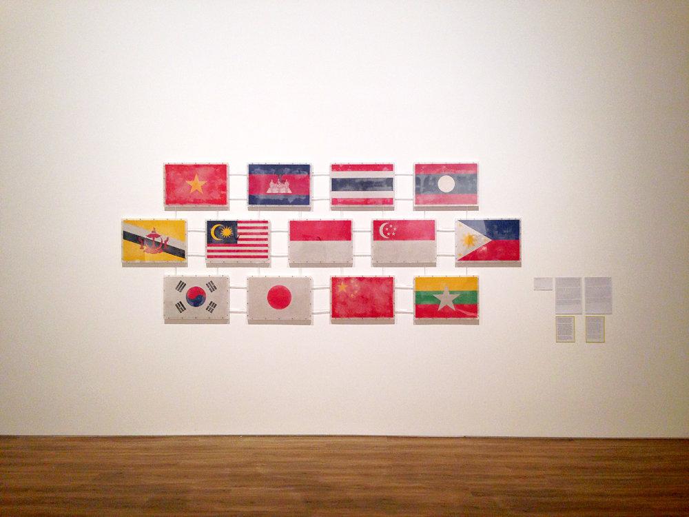 ASEAN +3  (2017) by Yukinori Yanagi
