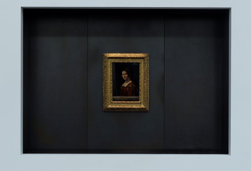 """Leonardo da Vinci, """"La Belle Ferroniere"""""""