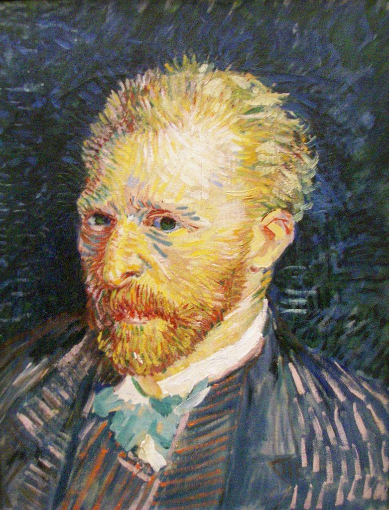 """Vincent Van Gogh, """"Self-portrait"""""""