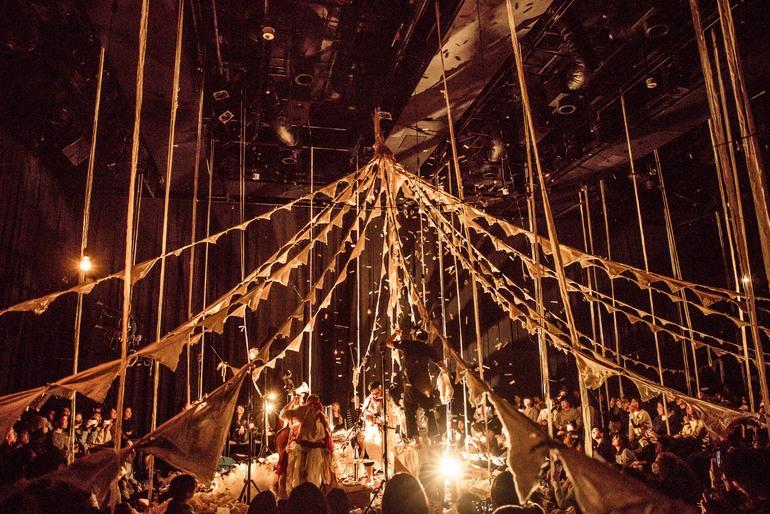 Circo de Sastre - A Modern Circus from Japan by musicians Daiho Soga and Gandhi Nishigaki of Cinema dub Monks, designer Takayuki Suzuki and lighting artist Takashi Watanabe  - 01.jpg
