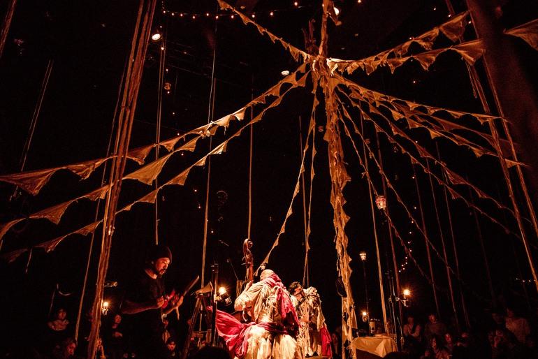 Circo de Sastre - A Modern Circus from Japan by musicians Daiho Soga and Gandhi Nishigaki of Cinema dub Monks, designer Takayuki Suzuki and lighting artist Takashi Watanabe  - 05.jpg