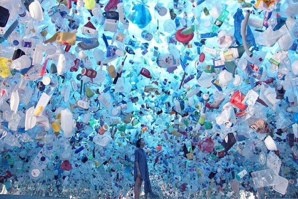 """Plastic Ocean"" by Tan Zi Xi"