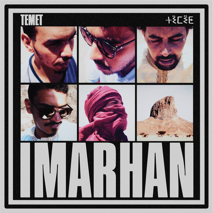 French indie director Vincent Moon documentary about South Algeria band Imarhan Children of Tam - Cover Album Temet.jpg