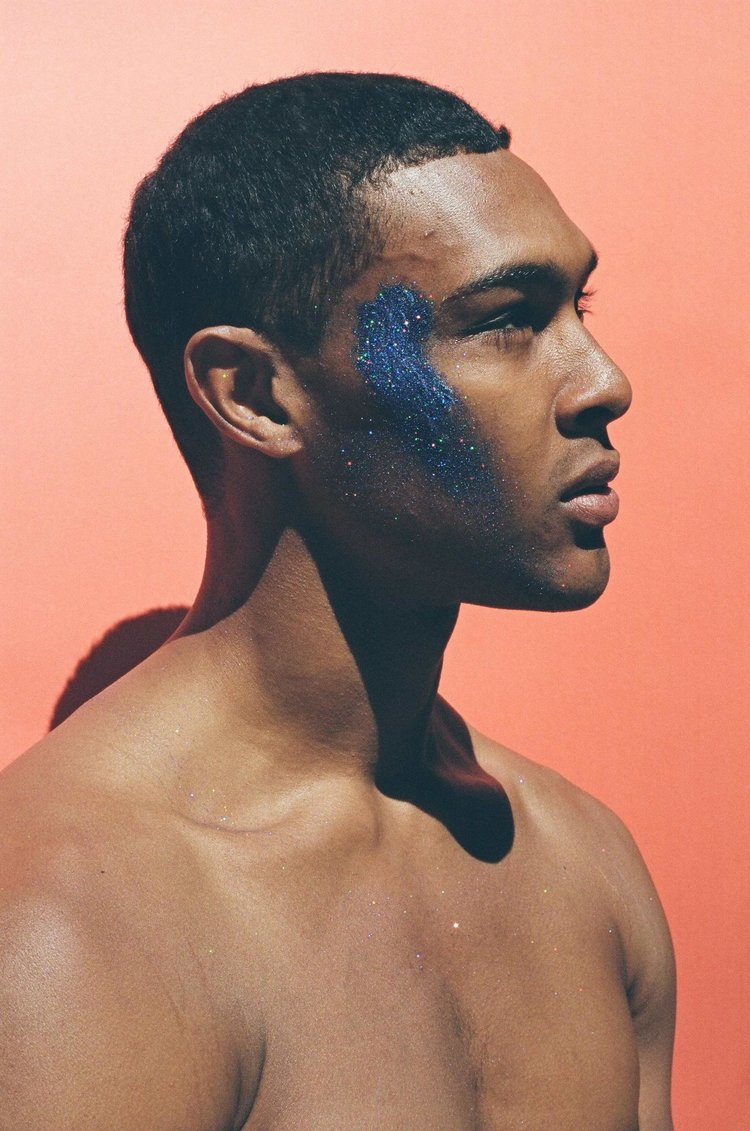 Photographer Quil Lemons photo series Glitterboy inspired by Frank Ocean challenges black masculinity 04.jpg