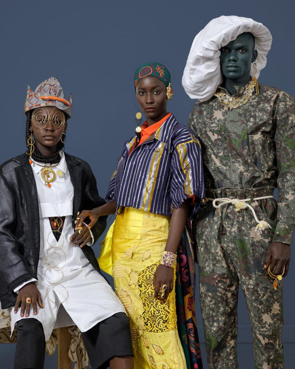 Lagos Futurism by Photographer William Ukoh featuring fashion brands Orange Culture, Andrea Iyamah, Fruche Iamisigo, Raya, Maxivive, Ladunni Lambo.jpg