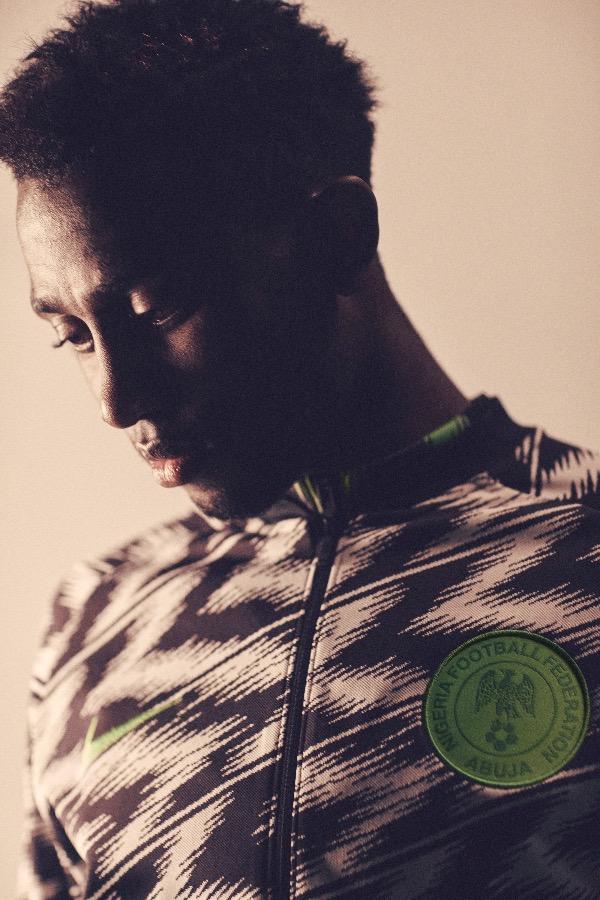 Nigeria 2018 World Cup National Team aka Super Eagles wears Naija Spirit jersey by Nike 05.jpg