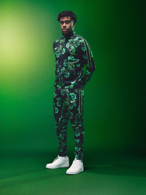 91c394df582 Nigeria 2018 World Cup National Team aka Super Eagles wears Naija Spirit  jersey by Nike 11