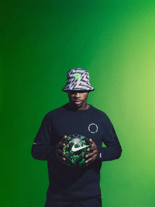 Nigeria 2018 World Cup National Team aka Super Eagles wears Naija Spirit  jersey by Nike 14 ef0afc015
