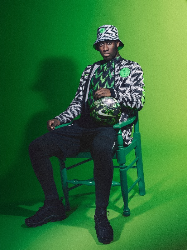Nigeria 2018 World Cup National Team aka Super Eagles wears Naija Spirit jersey by Nike 16.jpg