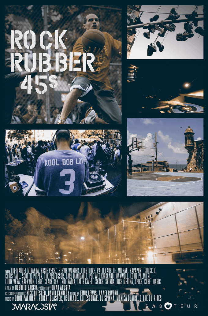 bobbito garcia aka kool bob love offers a look through basketball, hip-hop, sneaker scenes, etc with third documentary movie rock rubber 45s - kickstarter 01.png