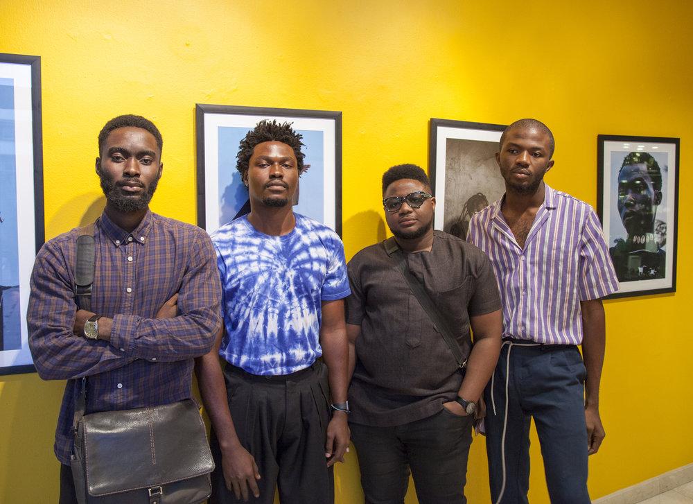 Gbam! artists (L-R) - Noma Osula, Kadara Enyeasi, Lex Ash and Daniel Obasi.jpg