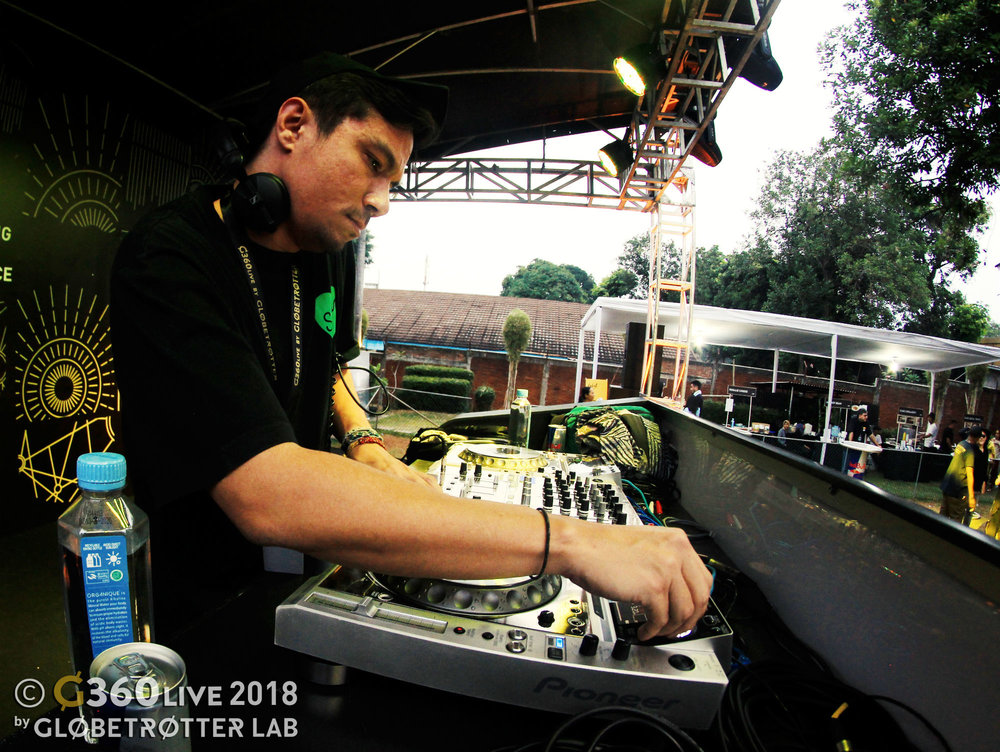 G360 Live by Globetrotter Lab in Jakarta Indonesia from 17-19 August 2018 - Day 1 Performer DJ Fat Cat Ffonz.jpg