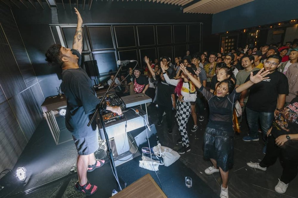Fauxe at Nusasonic Festival