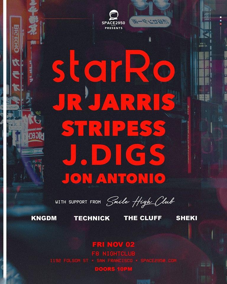 2 november 2018; starRo live; san francisco, usa; globetrotter magazine.jpg