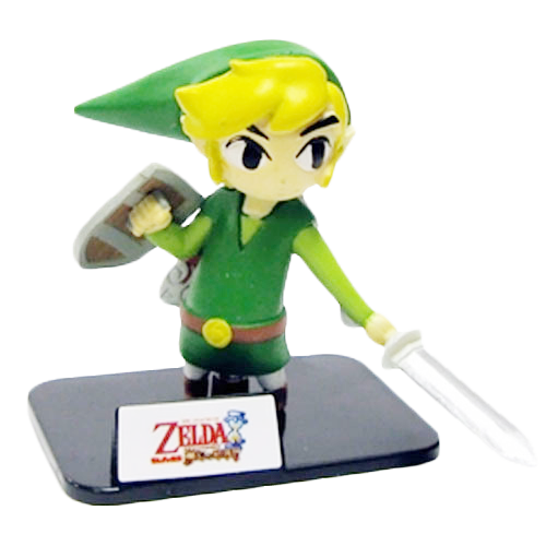 2 Inch figurine- Link from the Legend of Zelda Video game series
