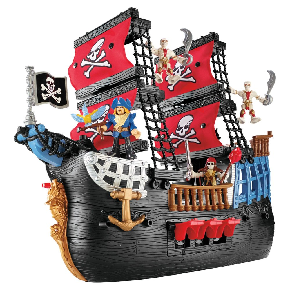Imaginext Pirate Ship Playset