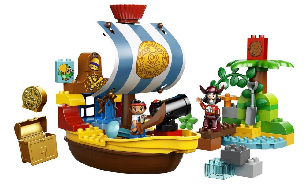 Disney Jake's Pirate Ship Bucky