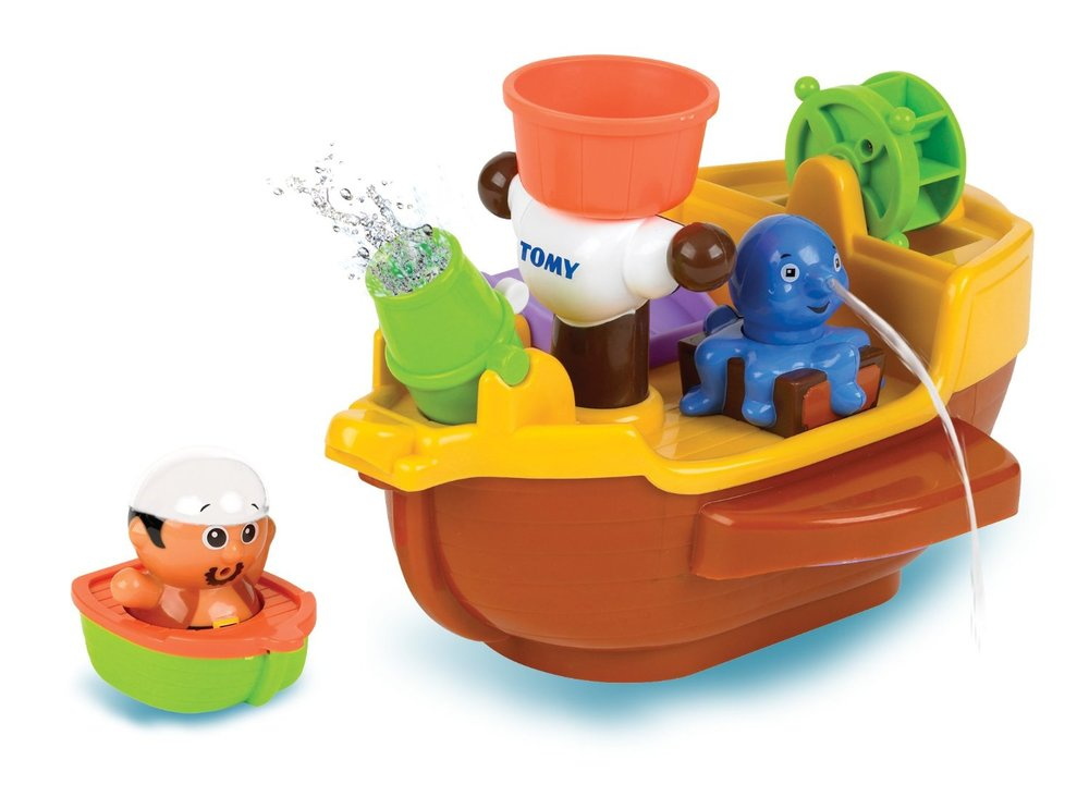 Pirate Pete's Bath Ship Toy