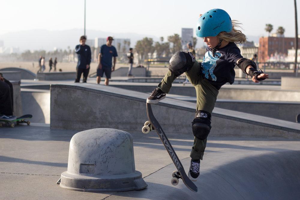 Action - Venice Skateboarding