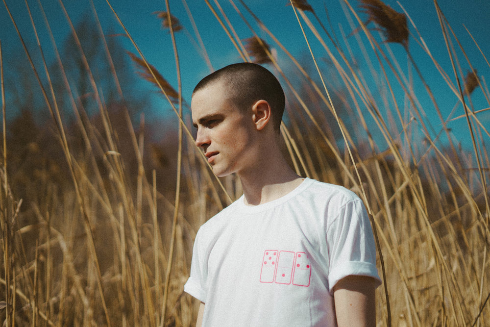 Siener Corp. 514 Domino Shirt White n Pink